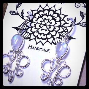 Casey Keith Design Jewelry - Kalimaya Opal Swirl Earrings